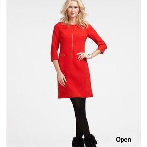 NWOT Ann Taylor red dress